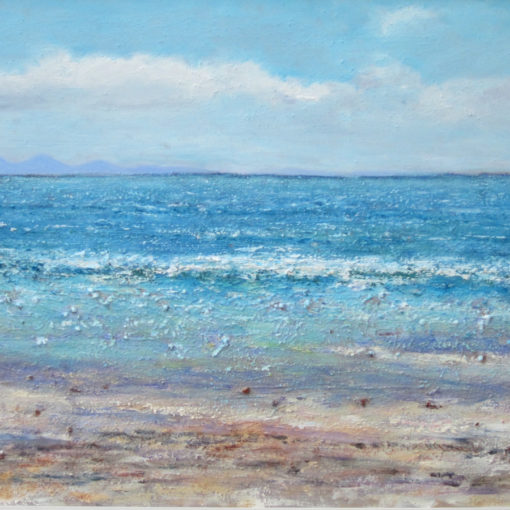 Painting called 'Jura from Ardalanish' by Ann-Marie Allan