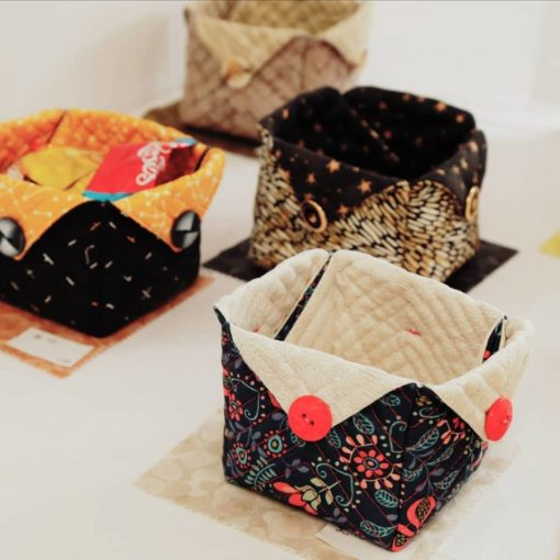 Patchwork boxes by Christine MacCallum